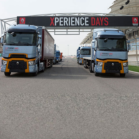 RENAULT TRUCKS GIVES ITS CUSTOMERS AN ADVENTURE EXPERIENCE IN THE MIDDLE EAST
