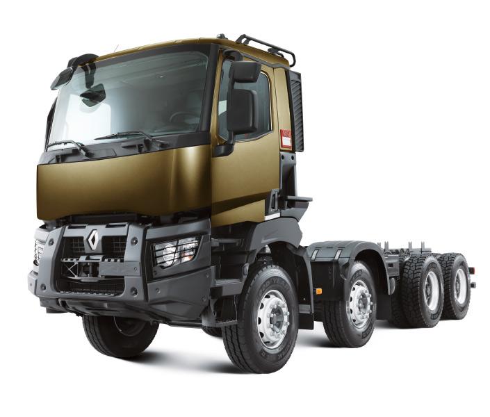 Renault Trucks D ROBUSTNESS Euro 3